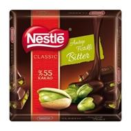 Resim Nestle Çikolata Antep Fıstıklı Bitter %55 Kakao 65Gr