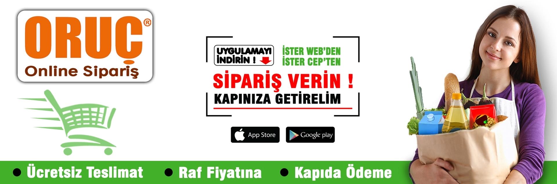 oruç market online market alışverişi kurtköy şubesi