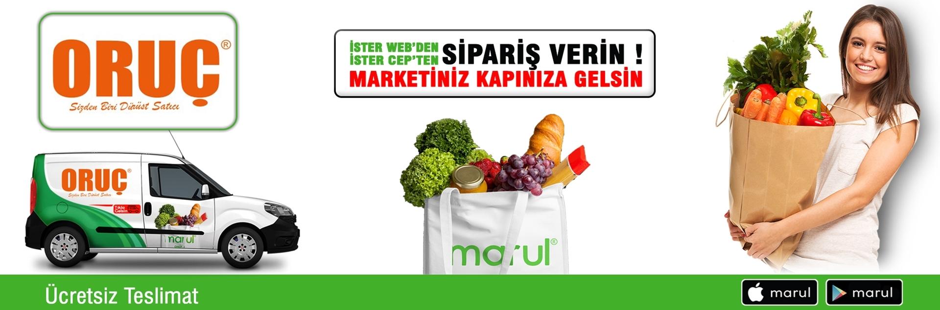 oruç market online market siparişi yayla şubesi