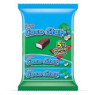 Ülker Coco Star 5 Li 125 Gr ürün resmi