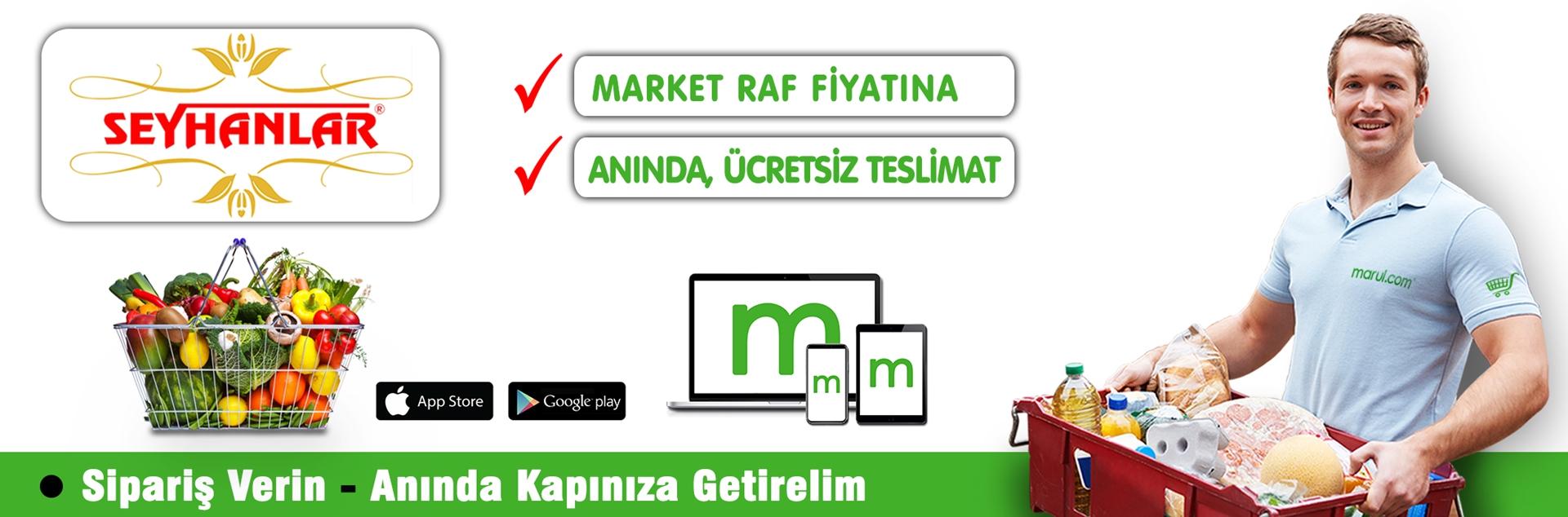 seyhanlar market online market alışverişi