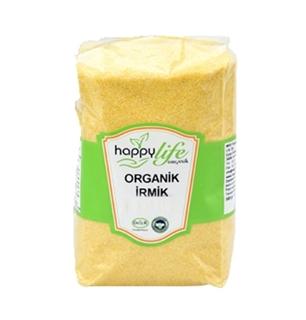Happy Life Organik İrmik 500 Gr ürün resmi