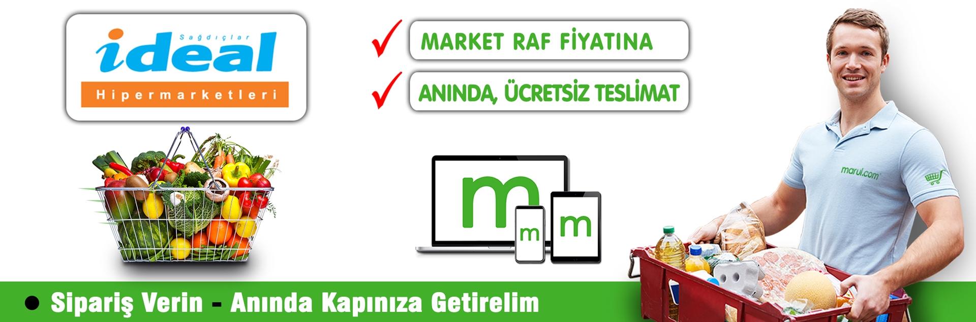 kadıköy ideal market online market alışverişi