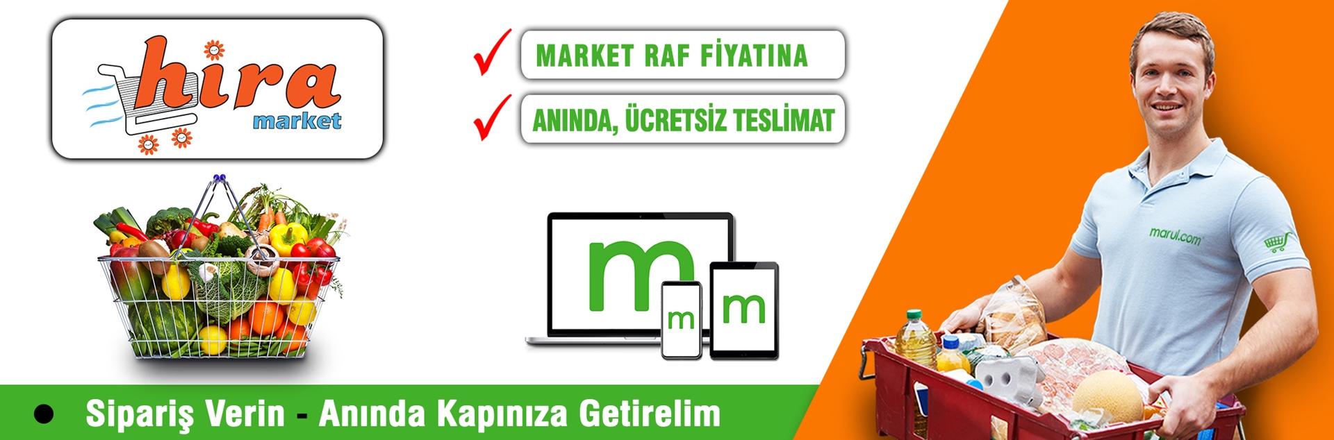 bahçelievler hira market online market alışverişi