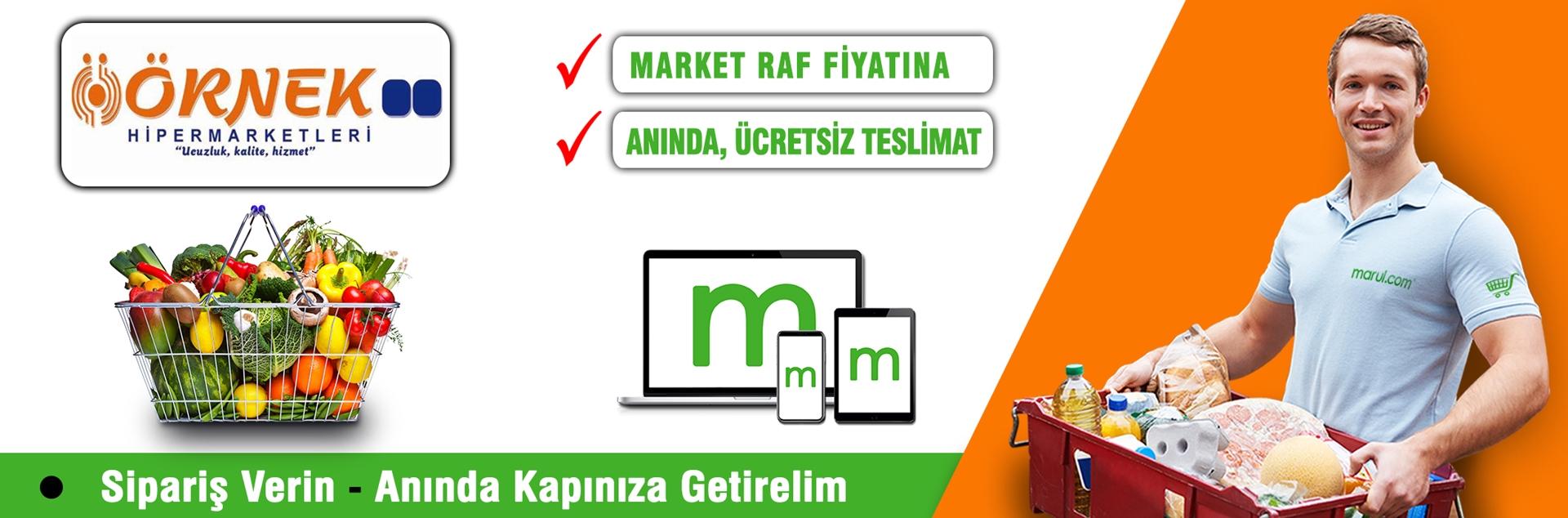 örnek hipermarketleri online market siparişi