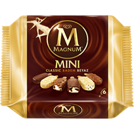 Picture of Algida Dondurma Magnum Mini Classic Badem Beyaz 6 Lı