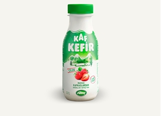 Sütaş Kaf Çilekli Kefir 250 Ml ürün resmi