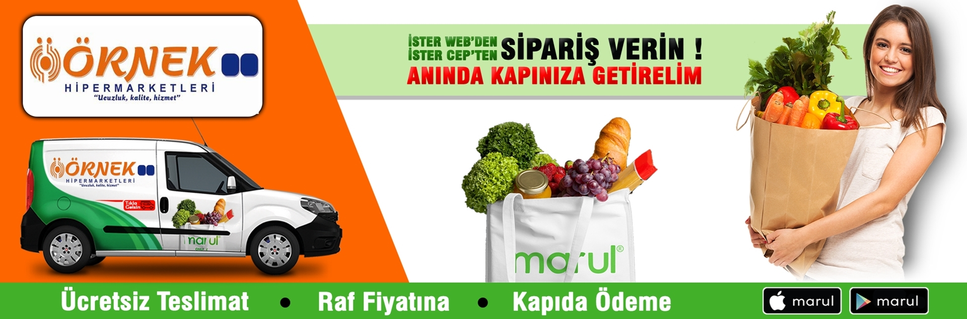 örnek market online market siparişi kıraç-3 şubesi