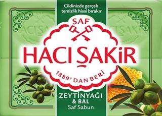 Hacı Şakir Beyaz Sabun Zeytınyağı Bal 150X4 Gr ürün resmi