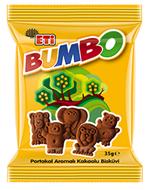 Resim Eti Bumbo Portakallı Kakaolu Bisküvi 59 Gr