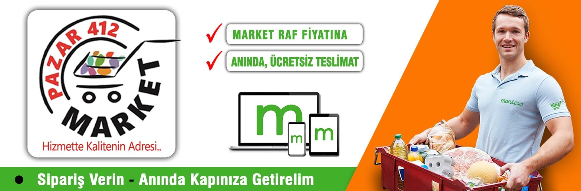 diyarbakır pazar 412 online market alışverişi