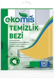 Picture of Ekomis Temizlik Bezi Sarı 9 Lu