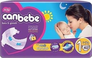 Canbebe Jumbo Bebek Bezi 2-5 Kg Yeni Doğan 40 Adet ürün resmi