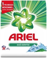 Resim Ariel Dağ Esintisi Çamaşır Deterjanı 4 Kg.