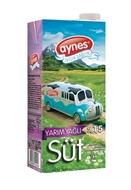 Picture of Aynes Yarım Yağlı Süt 1000 Ml