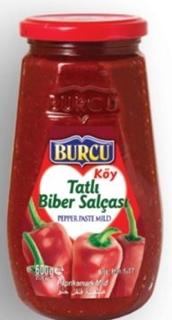 Picture of Burcu Tatlı Biber Salçası 600 Gr