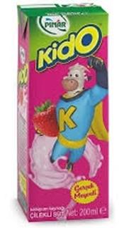 Pınar Kido Süt Çilekli 180 Gr ürün resmi