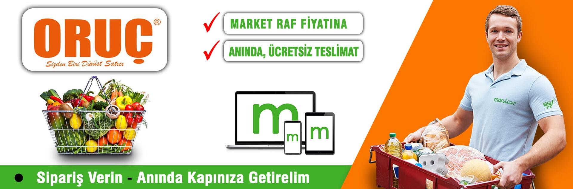 oruç market online market siparişi