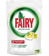 Picture of Fairy Hepsi Bir Arada Bulaşık Makinesi Deterjanı Kapsülü Limon Kokulu 60 Yıkama