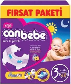 Canbebe Aylık Paket Midi No:3 68 Adet ürün resmi