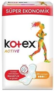 Kotex Active Ultra  Normal 24 Lü ürün resmi