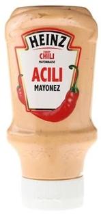 Heinz Mayonez Acılı 405 Gr ürün resmi