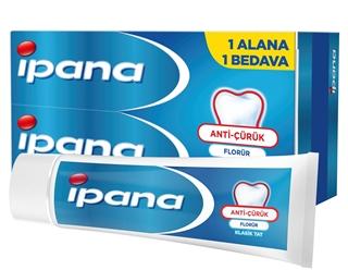 Ipana Pro-Expert Diş Macunu Hassas Koruma 1 Alana 1 Bedava Paketi (65 ml + 65 ml) ürün resmi