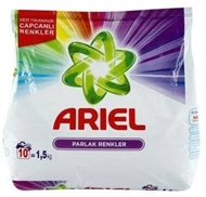 Ariel Toz Çamaşır Deterjanı Parlak Renkler  1,5 Kg  ürün resmi