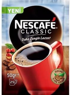 Nestlé Nescafé Classic zengin lezet  Kahve 50 gr ürün resmi
