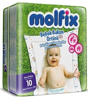 Molfix Bebek Bakım Örtüsü 10 Adet 60 x 60 cm ürün resmi