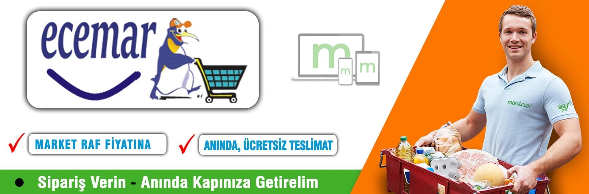 ecemar market online market alışverişi esentepe