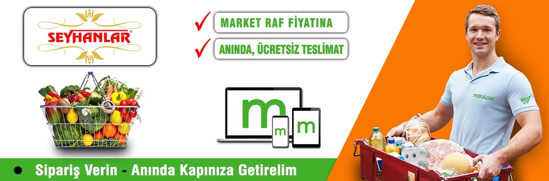 seyhanlar market sondurak şubesi online market alışverişi