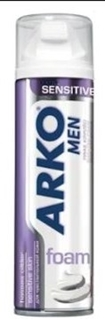 Arko Men Tıraş Köpüğü Sensitive 200 Ml ürün resmi