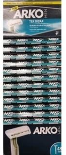 Arko Men Tek Bıçak Tıraş Bıçağı Kartela 48'Li ürün resmi