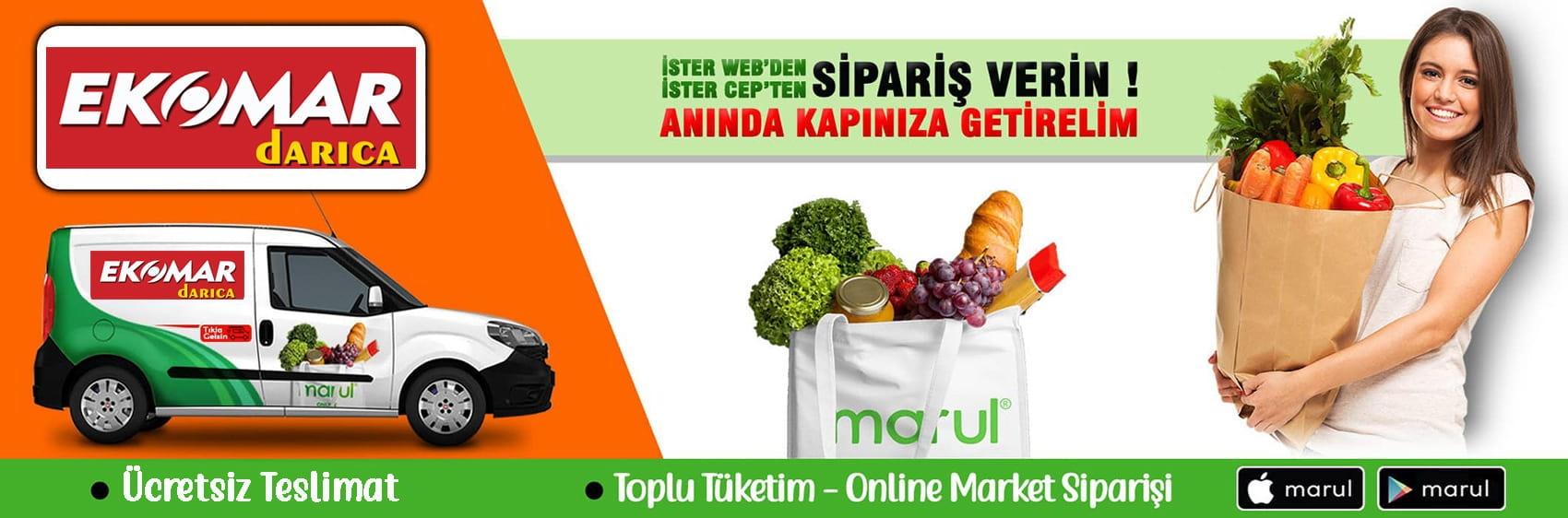 ekomar market online market sipariş darıca