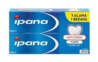 İpana Diş Macunu Kalsident 65+65 Ml ürün resmi