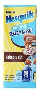 Nestle Nesquik Laktozsuz Süt 180 Ml ürün resmi