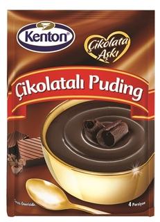 Kenton Çikolata Aşkı Çikolatalı Puding 100 gr ürün resmi