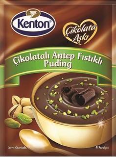 Kenton Çikolatalı Antep Fıstıklı Puding 100 g ürün resmi
