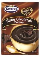 Resim Kenton Çikolata Aşkı Bitter Çikolatalı Puding 100 gr