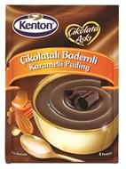Resim Kenton Çikolata Aşkı Çikolatalı Bademli Karamelli Puding 100 gr