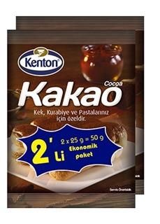 Kenton Toz Kakao 25 Gr 2'Li ürün resmi