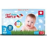 Resim Baby Turco Jumbo Paket No:3 Midi 50 Li