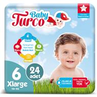 Resim Baby Turco No:6 Xl 16+ Kg 24 Lü