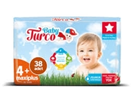 Resim Baby Turco No:4 Maxi Plus 38 Li