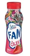 Resim Ülker İçim Fan Çilekli Süt 200 Ml