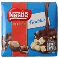Resim Nestle Çikolata Kare Klasik Fındıklı 65 Gr