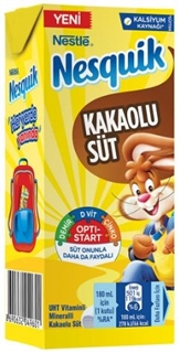 Nestle Nesquik Kakaolu Süt 180 Ml ürün resmi