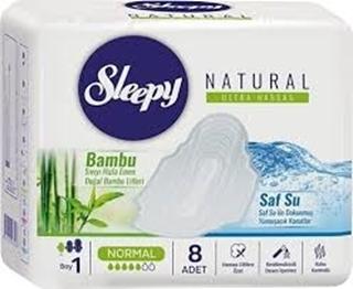Sleepy Naturel Slim Tekli Normal 8 Li ürün resmi