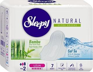 Sleepy Naturel Slim Tekli Uzun 7 Li ürün resmi